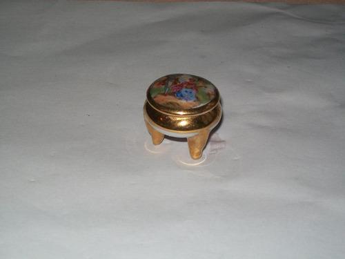 hermoso mini alhajerito antiguo de limoges