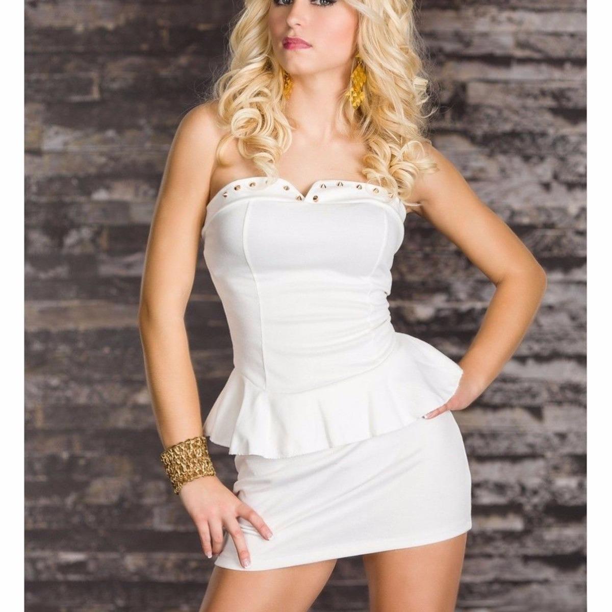 Vestido blanco de noche