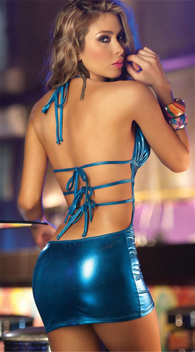 hermoso mini vestido de antro o para una noche especial