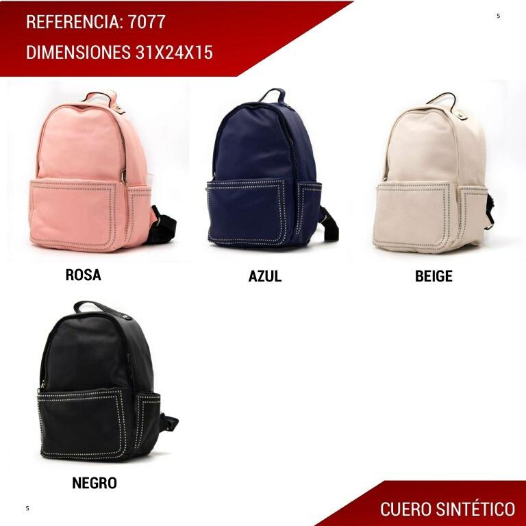 d99ddf69768 Hermoso Moderno Bolso Tipo Morral Para Dama. -   54.990 en Mercado Libre