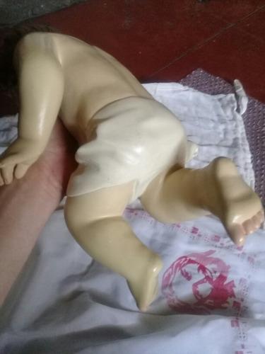 hermoso niño dios antigüo olot  de 14 pulgadas