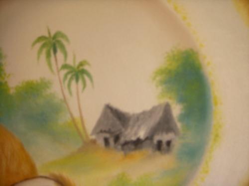 hermoso oleo sobre tela de ismael mazola ideal para decorar!