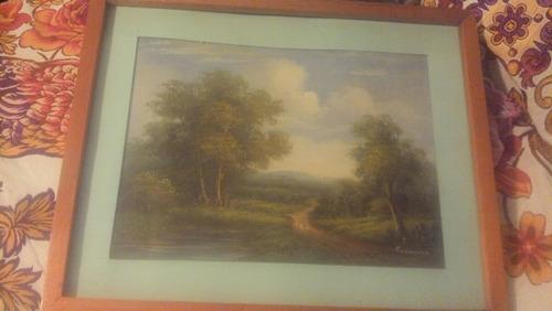 hermoso paisaje , firmado c freeman