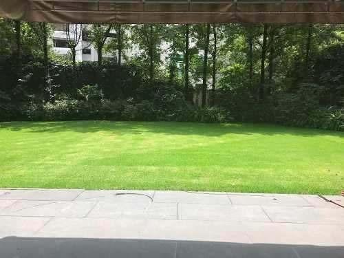 hermoso pent garden con acabados de lujo