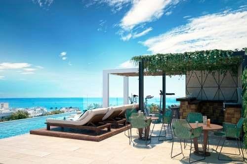hermoso pent house en una de las mejores ubicaciones playa del carmen.