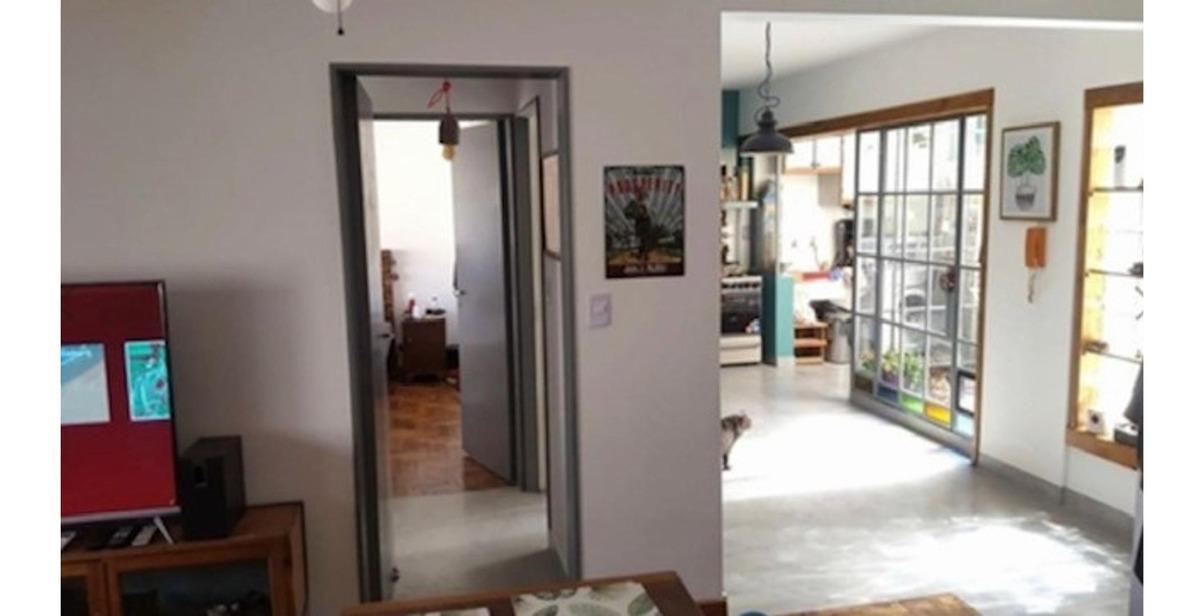 hermoso ph , 53 m2 , estilo industrial reciclado a nuevo , v