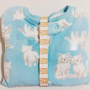 hermoso pijama enterito de micro polar carter's 2t 002