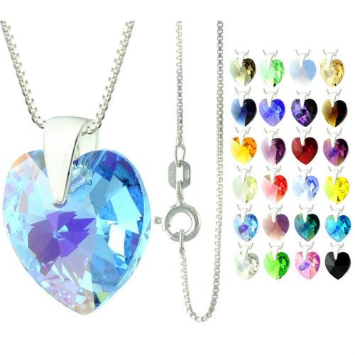 hermoso regalo collar corazon tornasol, bellos aretes etc