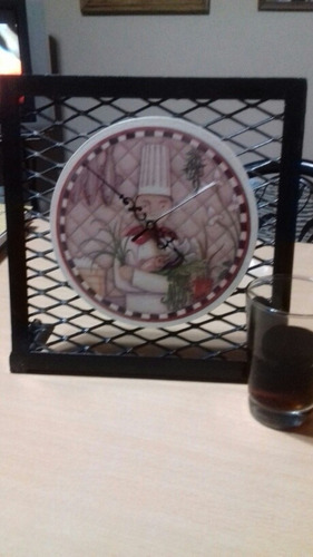 hermoso reloj de pie( villa ballester)