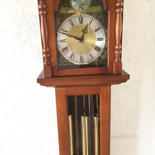 hermoso reloj granfather tempts fugit cornivell westminster.