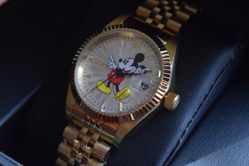 hermoso reloj invicta disney ed limitada mujer tiempo exacto