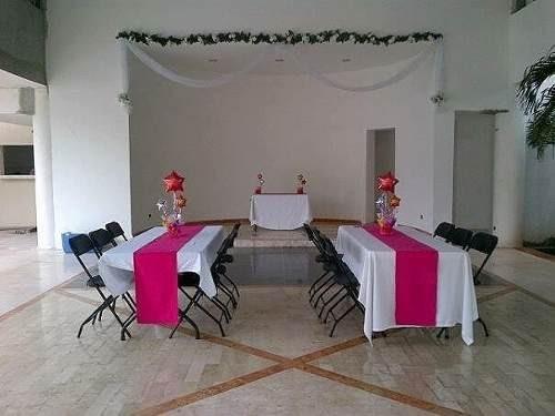 hermoso salon de fiestas 100% funcional en el centro