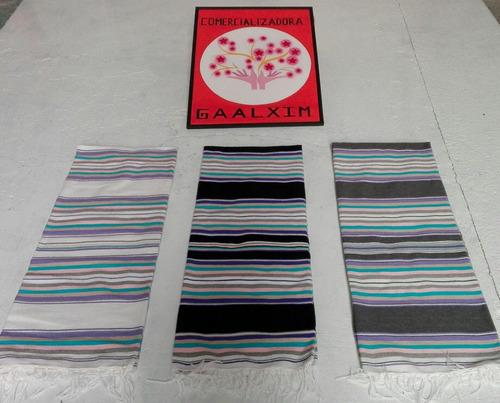 hermoso sarape saltillo color especial matrimonial (2pack)