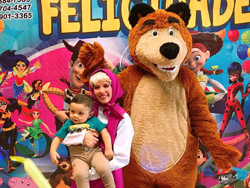 hermoso show infantil de masha y el oso