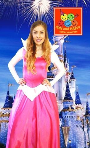 hermoso show infantil de princesas! ariel, bella y más!