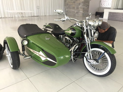 hermoso sidecar, sugetable  a cualquier moto harley