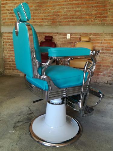 hermoso sillón lady barber colombia., legítimo
