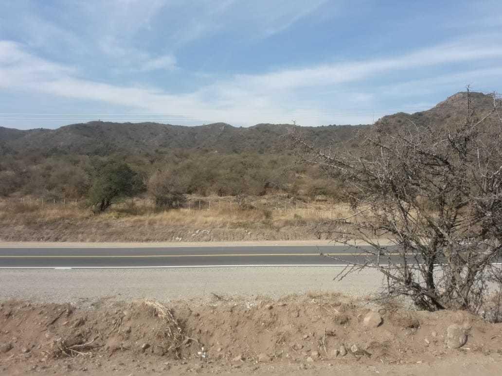 hermoso terreno c/ increíble vista camino a las jarillas