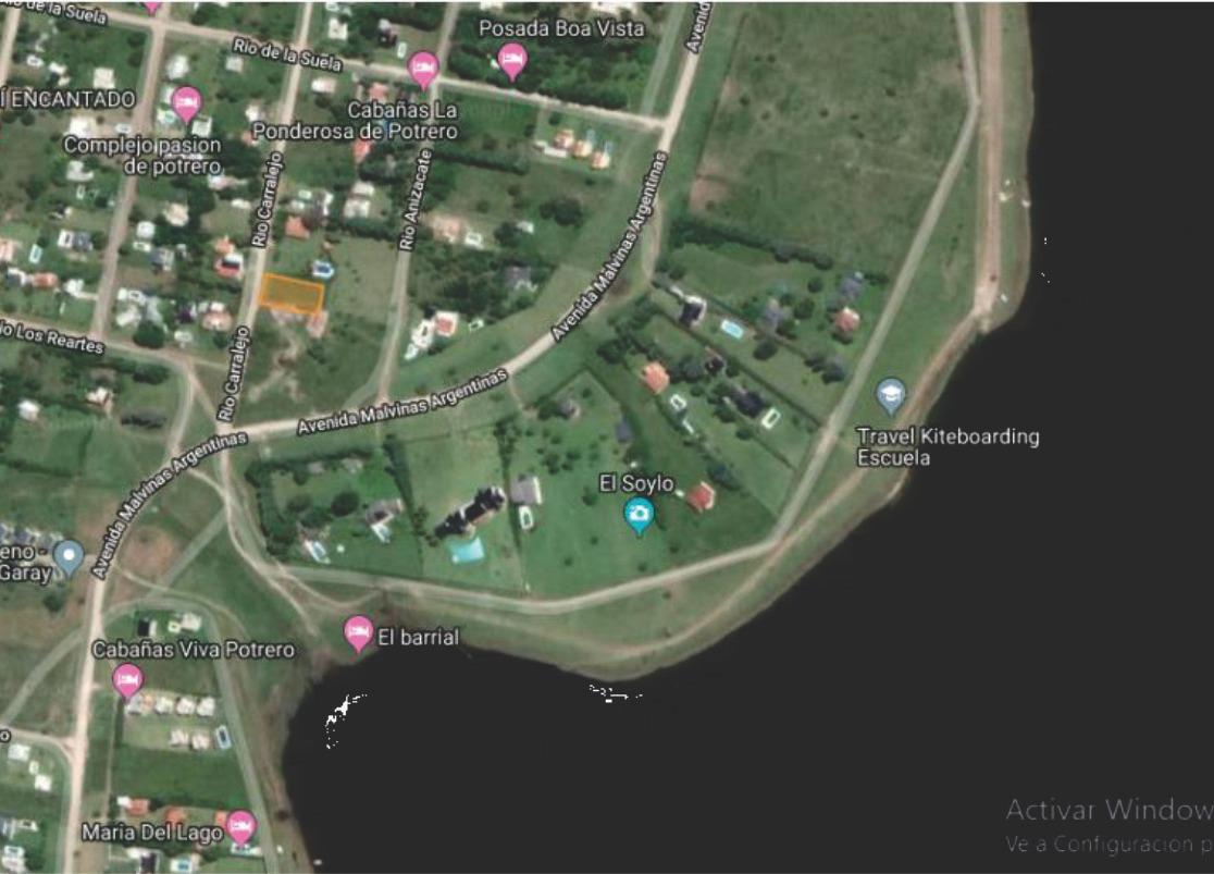 hermoso terreno de 800 m2 a 250 m de la bajada al lago!378