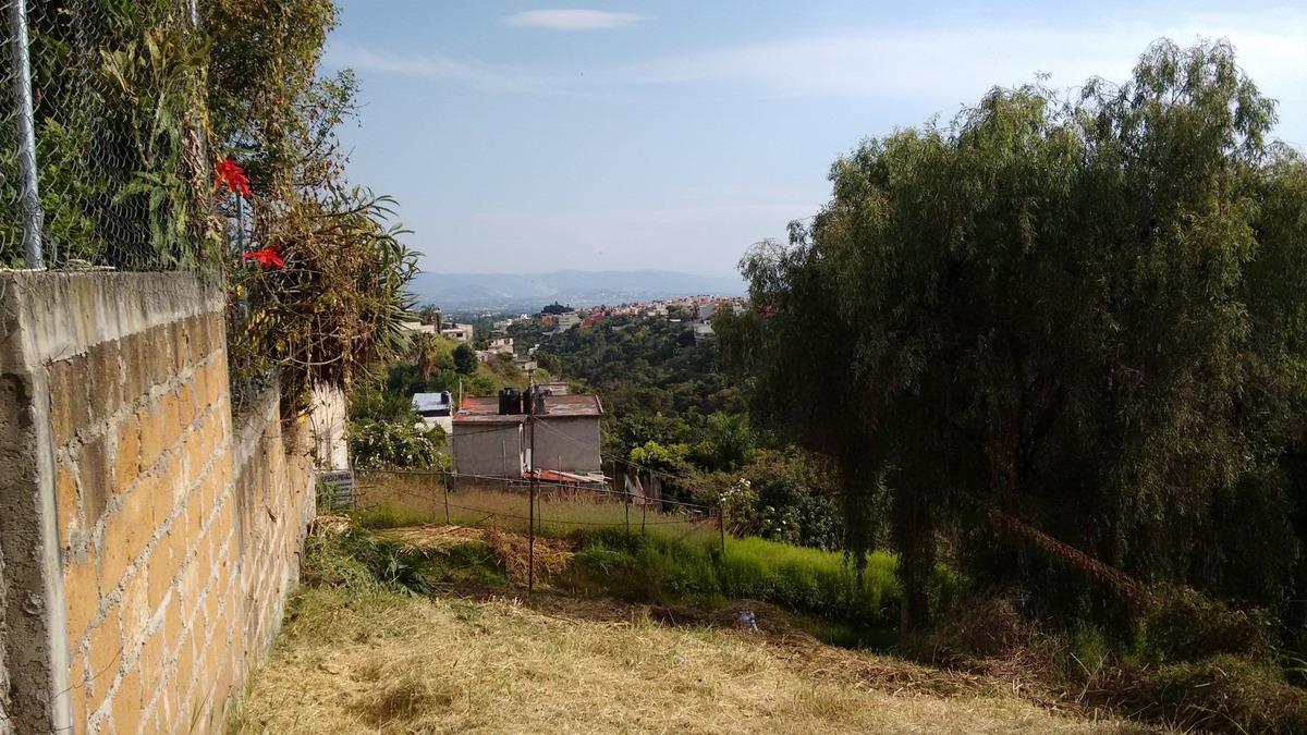 hermoso terreno en lomas de ahuatlán