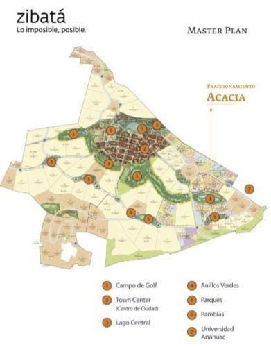 hermoso terreno en venta de 148.5m2 ubicado en acacia zibata !!