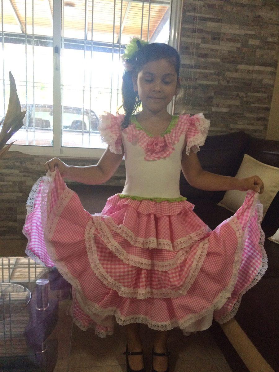 Hermoso Traje De Flamenco- Sevillana Para Niña De 4 A 5 Años - Bs ... 1d572fd5dee