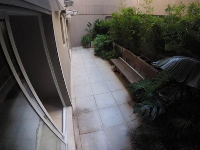 hermoso tres ambientes de diseño con patio