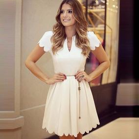 Hermoso Vestido Blanco Moda Asiatica Eenvio Inmediat