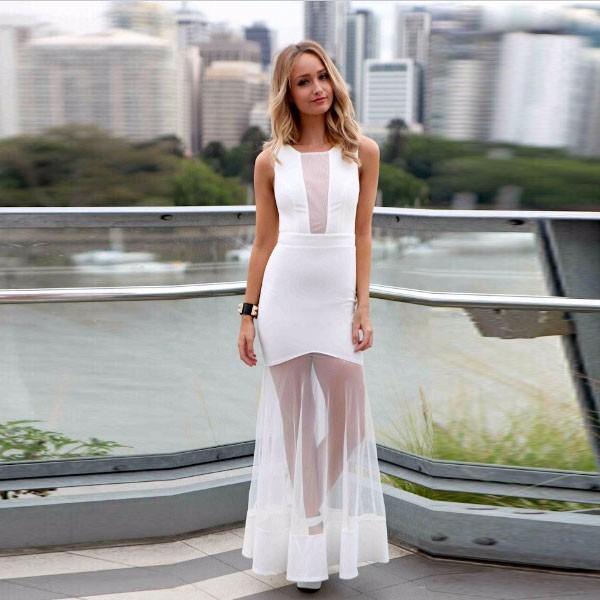 5af7171ca9 Hermoso Vestido Blanco