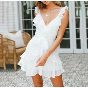 9530e3744 Vestidos Blancos Para Playa - Vestidos en Distrito Federal en Mercado Libre  México