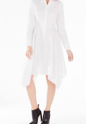 hermoso vestido casual bcbg