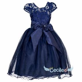 4e998b5d1 Ropa Vestidos Azul Rey Para Niña Ninas - Ropa para Bebés en ...