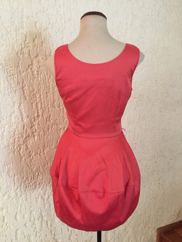 hermoso vestido coctel casual falda tulipàn