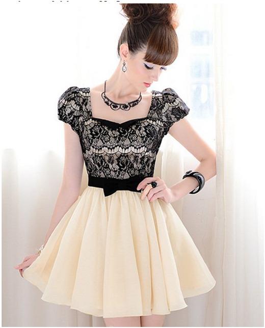 Moda asiatica japonesa vestidos cortos mayor y detal