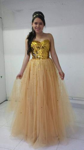 hermoso vestido de 15