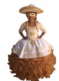 Hermoso Vestido De Charra Para Niña