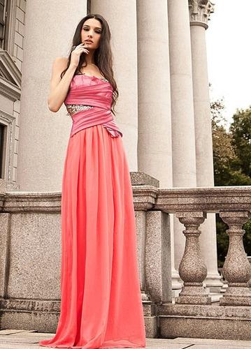 hermoso vestido de coctel o graducacion envio inmediato