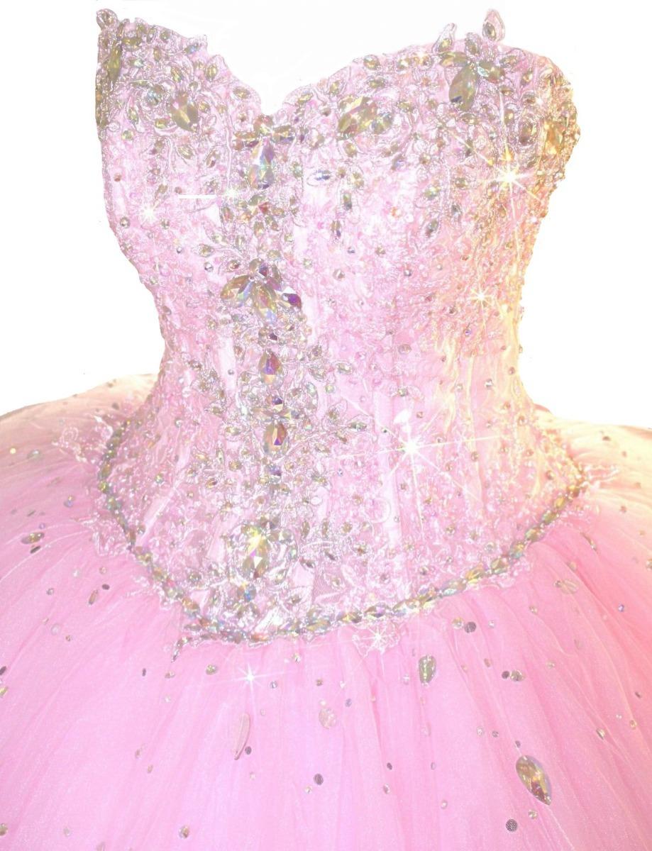 Hermoso Vestido De Fiesta 15 Años Con Envío Gratis! - $ 8.300,00 en ...