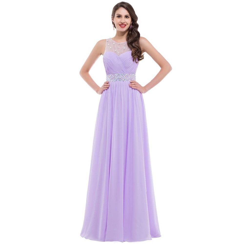 Hermoso Vestido De Fiesta Noche Graduación Lila Mediano - $ 1,699.00 ...