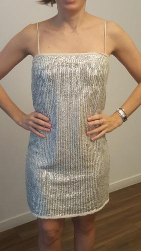 hermoso vestido de lentejuelas importado de brasil nuevo