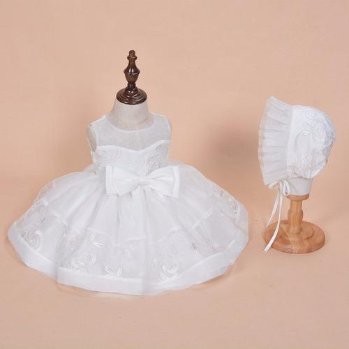 hermoso vestido de niña ( bautizo, fiesta, boda, damita)