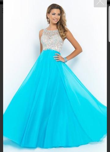 hermoso vestido de noche largo
