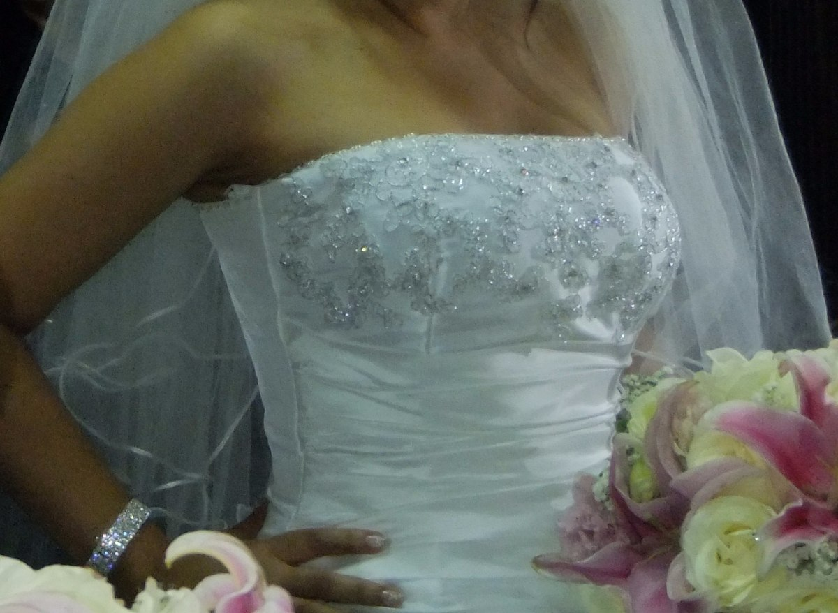 Hermoso Vestido De Novia Blanco Talla Xs Excelente Precio - S/ 399 ...