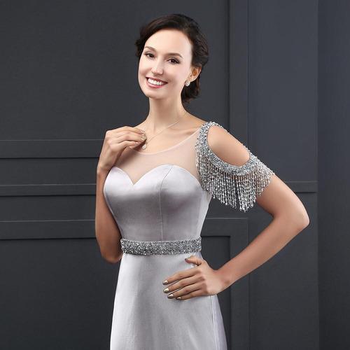hermoso vestido de novia color a eleccion barato economico
