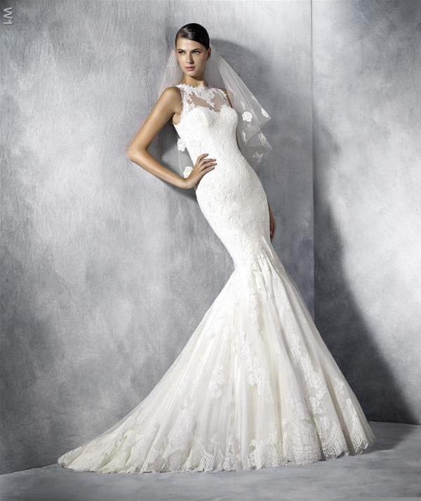 hermoso vestido de novia corte sirena 2017- pronovias - $ 9,600.00