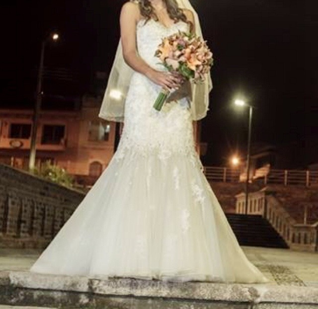 Hermoso Vestido De Novia Diseñadora Sophia Tolli - U$S 1.200,00 en ...