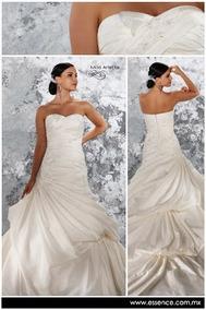d463405229 Hermoso Vestido De Novia Essence Talla 10