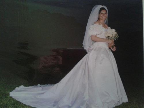 hermoso vestido de novia importado como nuevo
