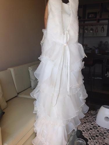 hermoso vestido de novia nuevo