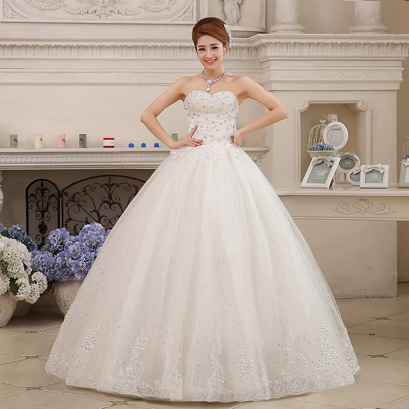 hermoso vestido de novia nuevo blanco tipo corset económico